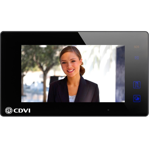 "CDVI CDV47-B 17.8 cm (7"") Video Master Station - Touchscreen TFT LCD - Door Entry"