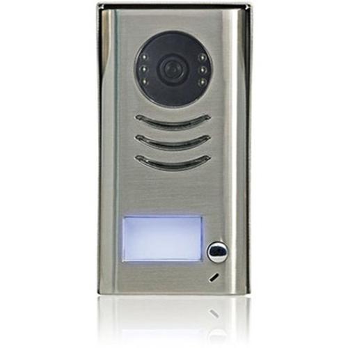 CDVI CDV91 Video Door Phone Sub Station - CCD - Half-duplex - Zinc Alloy, Stainless Steel - Door Entry