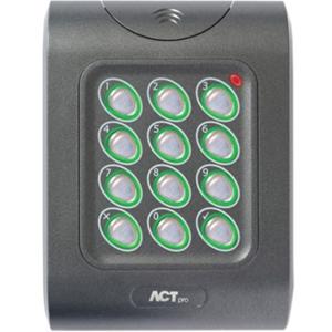ACT ACTpro MF 1050e Card Reader/Keypad Access Device - Door - Proximity, Key Code - Wiegand - 24 V DC - Flush Mount, Surface Mount