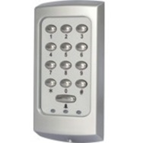 Paxton Access KP75 Card Reader/Keypad Access Device - Black - Door - Proximity, Key Code - 1 Door(s) - 300 mm Operating Range - Ethernet - 12 V DC - Surface Mount