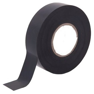 W Box Insulating Tape - 19 mm Width x 20 m Length - Flame Retardant, Weather Resistant, Cold Resistant, Sunlight Resistant - 5 Pack - Black