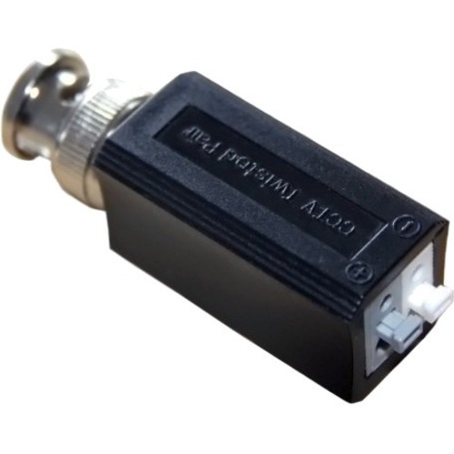 HAYDON HAY-HDVB01 Video Balun - ABS Plastic - 15 kHz to 42 MHz - 1920 x 1080 - 440 m Maximum Operating Distance - BNC In - BNC Out