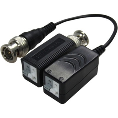 HAYDON HAY-HDVBO1DUAL Video Balun - ABS Plastic - 15 kHz to 42 MHz - 1920 x 1080 - 440 m Maximum Operating Distance - BNC In - BNC Out