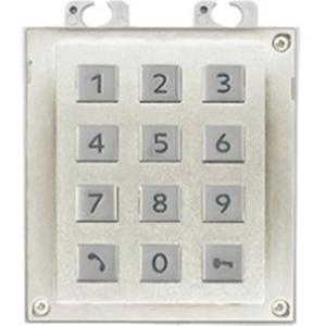 2N Security Keypad for Door Entry Panel - White, Nickel