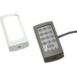 Paxton Access TOUCHLOCK K38 Keypad Access Device - Black, White - Door - Key Code - 1 Door(s) - Surface Mount
