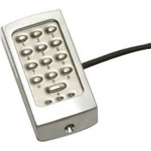 Paxton Access TOUCHLOCK K38 Keypad Access Device - Silver - Door - Key Code - 1 Door(s) - Surface Mount