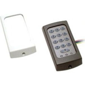 Paxton Access TOUCHLOCK K50 Keypad Access Device - Black, White - Door - Key Code - 1 Door(s) - Surface Mount, Standalone
