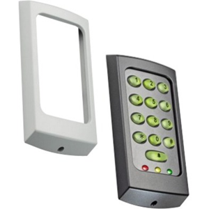 Paxton Access TOUCHLOCK K75 Keypad Access Device - Black, White - Door - Key Code - 1 Door(s) - Surface Mount, Standalone