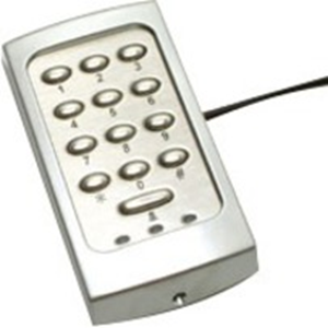 Paxton Access TOUCHLOCK K75 Keypad Access Device - Silver - Door - Key Code - 1 Door(s) - Surface Mount