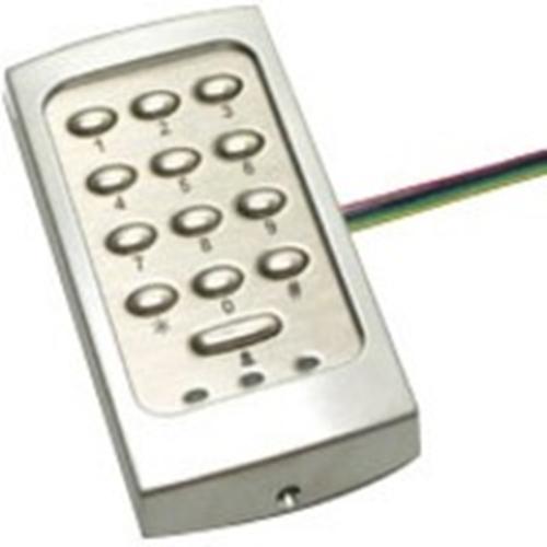 Paxton Access TOUCHLOCK K75 Keypad Access Device - Silver - Door - Key Code - 1 Door(s) - Surface Mount