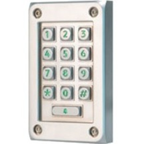 Paxton Access Keypad Access Device - Silver - Door - Key Code - 1 Door(s) - Surface Mount, Standalone