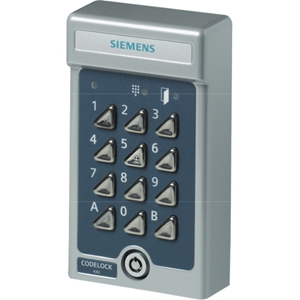Siemens K44 Duo Keypad Access Device - Grey - Door - Key Code - 2 Door(s) - 35 V DC