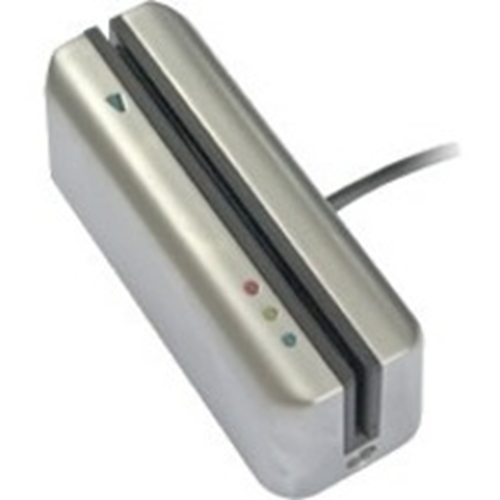 Paxton Access CARDLOCK Card Reader Access Device - Satin Chrome - Door - Magnetic Strip - 1000000 User(s) - 1 Door(s) - 12 V DC - Surface Mount