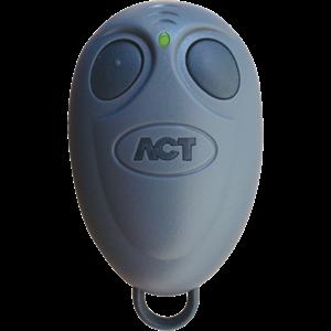 ACT 433TX 2 Buttons Keyfob Transmitter - RF - 433 MHz - Handheld