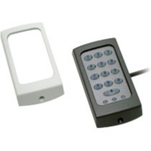 Paxton Access KP50 Card Reader/Keypad Access Device - Black, White - Door - Proximity - 1 Door(s) - 12 V DC - Surface Mount