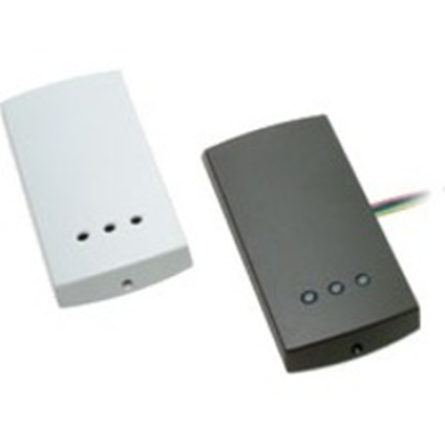 Paxton Access P75 Card Reader Access Device - Black, White - Door - Proximity - 300 mm Operating Range - 12 V DC - Surface Mount, Standalone