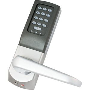 Paxton Access Easyprox Keypad Access Device - Silver - Door - Key Code - 10000 User(s) - 1 Door(s) - 50 mm Operating Range - Standalone