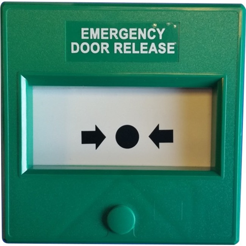 Knight Fire & Security Maxhunt Manual Call Point - Green