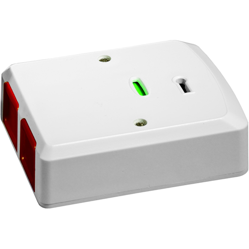 Knight Fire & Security PA2EWR Push Button - White - Stainless Steel, Acrylonitrile Butadiene Styrene (ABS)