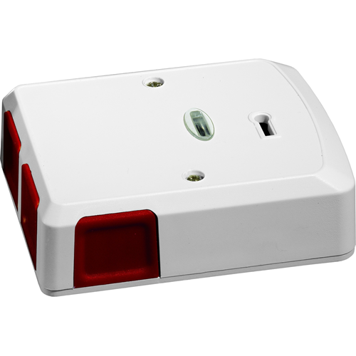 Knight Fire & Security PA4W Push Button - White - Acrylonitrile Butadiene Styrene (ABS)