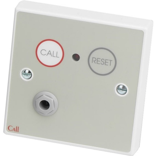 C-TEC Push Button/Manual Call Point - Single Gang - Plastic