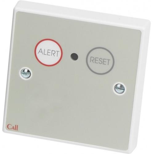 C-TEC Push Button/Manual Call Point - Single Gang - Plastic