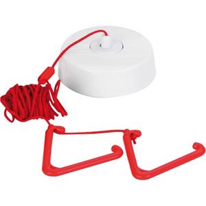 C-TEC Pull Station - Red - Nylon, Plastic