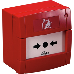 Apollo Manual Call Point For Indoor/Outdoor, Fire Alarm, Commercial - Red