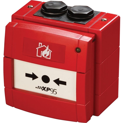 Apollo Manual Call Point For Outdoor - Red - Polycarbonate