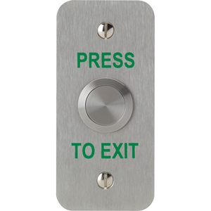 3E Push Button - Stainless Steel