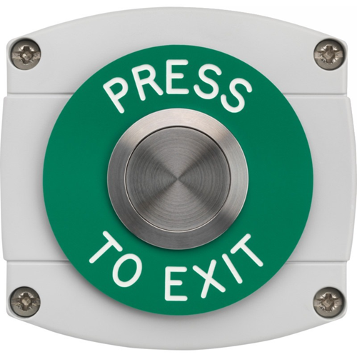 3E Push Button - Stainless Steel, Polymer