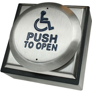 CDVI Push Button For Indoor, Outdoor, Traffic, Hospital, Public Building, College - Stainless Steel