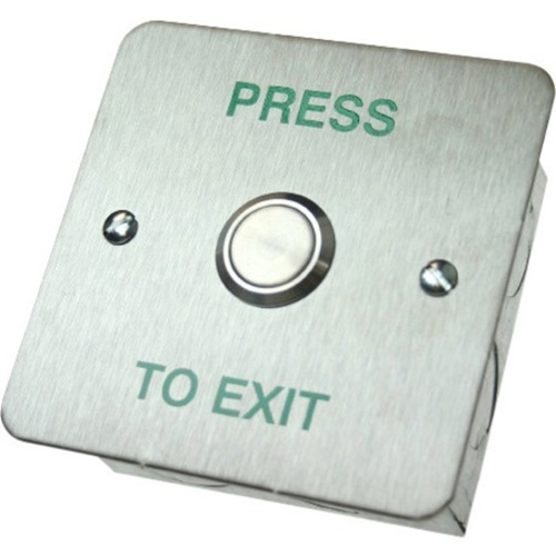 CDVI Push Button For Indoor, Outdoor, Traffic, Home - Stainless Steel
