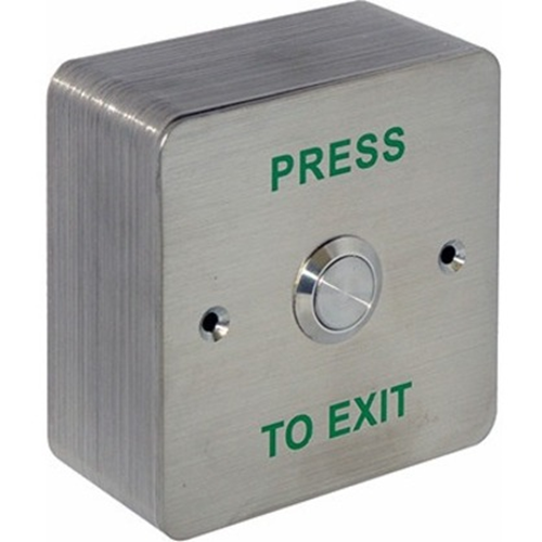 CDVI Push Button - Stainless Steel
