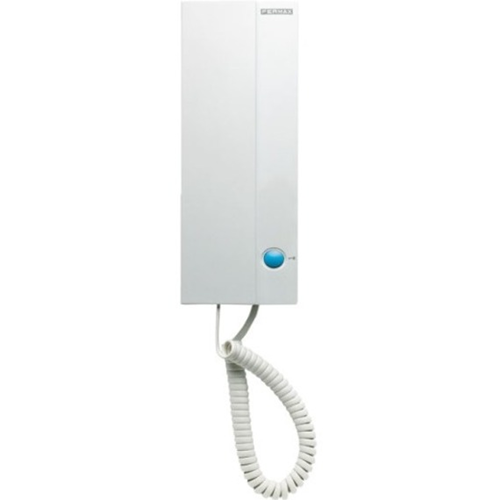 FERMAX Intercom Sub Station - for Door Entry - White - Cable - 200 m - Wall Mount