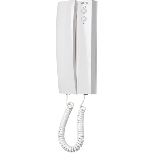 VIDEX Intercom Sub Station - for Door Entry - White - Cable - Desktop