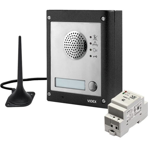 VIDEX Intercom Sub Station - for Apartment - Wireless - Surface Mount