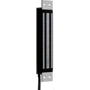 CDVI C-Line C3M11 Magnetic Lock - 300 kg Holding Force - Satin Anodized Aluminum - Monitored