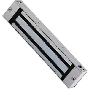 CDVI S180 Single Door Magnetic Lock - 180 kg Holding Force - Satin Anodized Aluminum