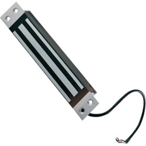 CDVI M300M Magnetic Lock - 300 kg Holding Force - Stainless Steel, Satin Anodized Aluminum - Weather Resistant, Vandal Resistant