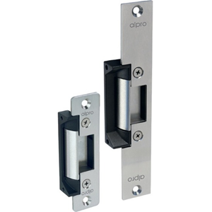 alpro Fail Safe, Fail Secure Electric Strike - 12 V DC, 24 V DC - 1750 kg Holding Strength - Aluminium Door Frame Type - Stainless Steel, Metal, Aluminium