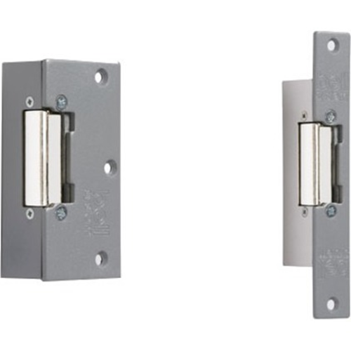Bell Systems 203 Fail Secure Electric Strike - 12 V AC, 12 V DC - Stainless Steel, Plated Zinc, Chrome Plated Zinc Alloy, Steel