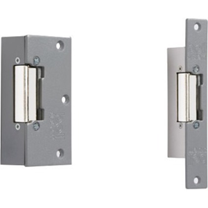 Bell Systems 205 Fail Secure Electric Strike - 12 V AC, 12 V DC - Mortise Door Lock Type - Stainless Steel, Plated Zinc, Chrome Plated Zinc Alloy, Steel