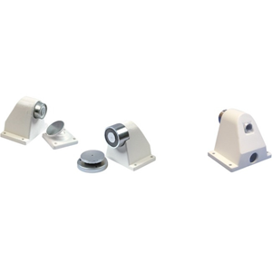 Cranford Controls Wall Doorstop - Damage Resistant, Vandal Resistant - Aluminium
