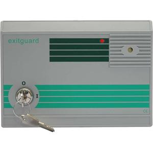 Hoyles Exitguard EX105G Security Alarm - 14 V DC - 105 dB - Audible, Visual - Red, Green