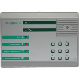 Hoyles Exitguard EX205 Security Alarm - 12 V DC - 108 dB - Audible, Visual - Red