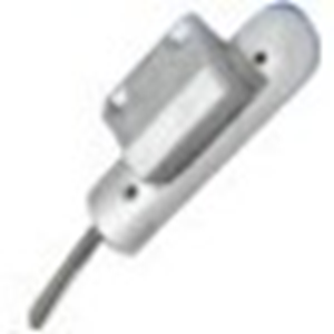 Elmdene RSA Cable Magnetic Contact - 55 mm Gap - For Door, Roller Shutter - Surface Mount - Silver