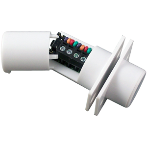 CQR FC508 Cable Magnetic Contact - SPST (N.O.) - 9 mm Gap - For Double Door - Flush Mount - White