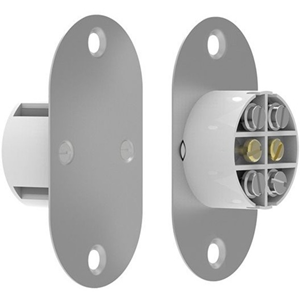 CQR FC509MT2 Magnetic Contact - SPST (N.O.) - 25 mm Gap - For Door - Flush Mount - White