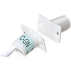 Elmdene EN3-QFC Cable Magnetic Contact - 13 mm Gap - For Door - Flush Mount - White